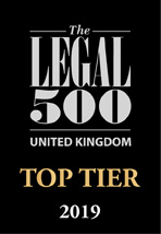Top tier firms Legal 500